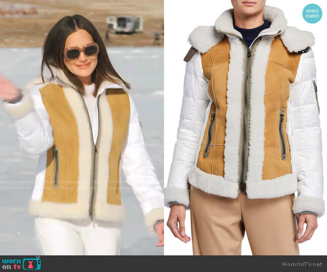 Riana Down Ski Jacket by Bogner worn by Meredith Marks  on The Real Housewives of Salt Lake City