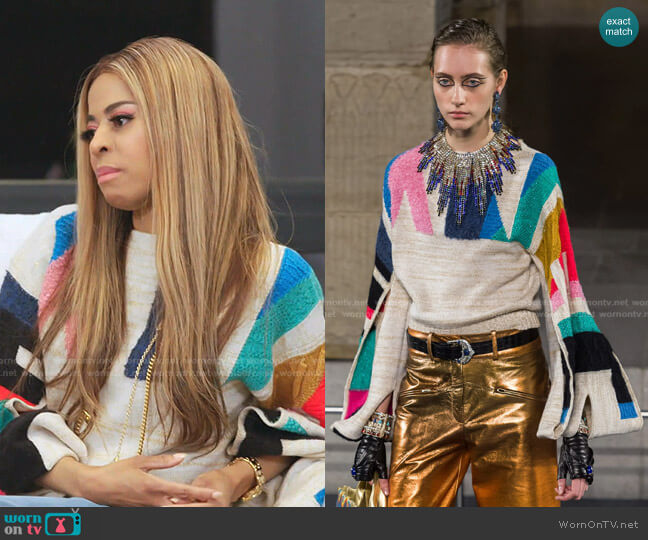 Fall 2019 Collection by Chanel worn by Mary Cosby  on The Real Housewives of Salt Lake City