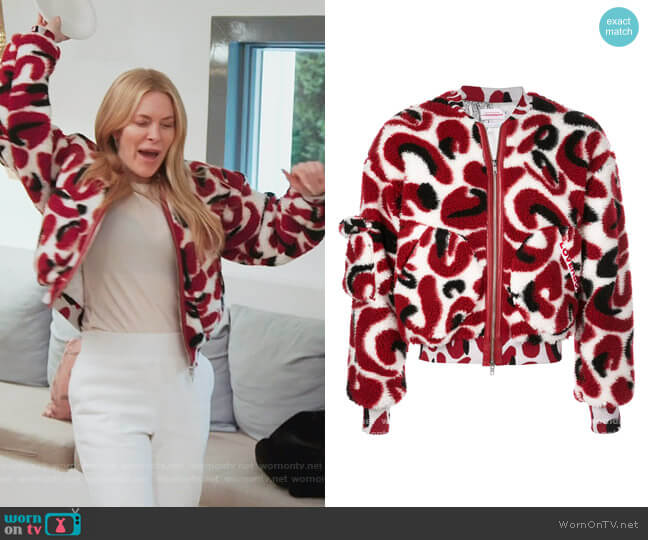 Monster Jacquard jacket by Charles Jeffrey Loverboy worn by Leah McSweeney  on The Real Housewives of New York City