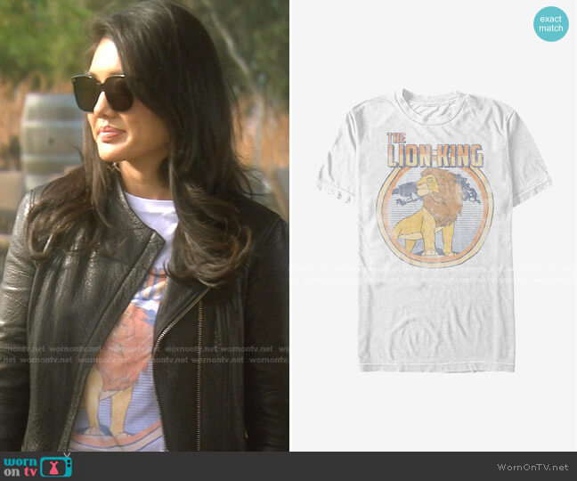 Disney The Lion King Vintage Simba T-Shirt by Hot Topic worn by Crystal Kung Minkoff  on The Real Housewives of Beverly Hills