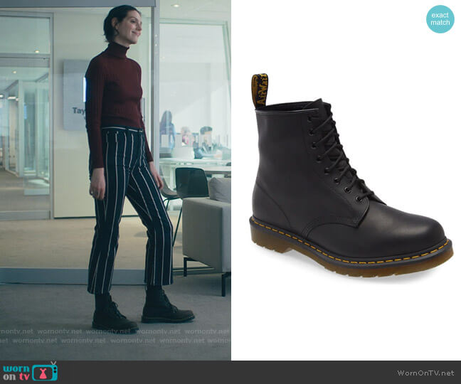 1460 Boot by Dr Martens worn by Eva Victor on Billions