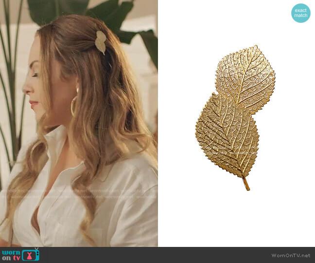 Clip: Birch Clip by Epona Valley worn by Fallon Carrington (Elizabeth Gillies) on Dynasty