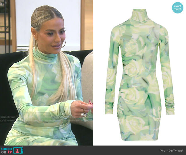 Body Con Dress by Fenty worn by Dorit Kemsley  on The Real Housewives of Beverly Hills