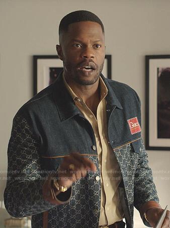 Jeff's Gucci denim jacket on Dynasty