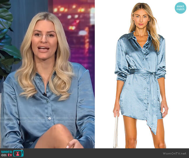 Marta Shirt Dress by L'Academie worn by Morgan Stewart  on E! News