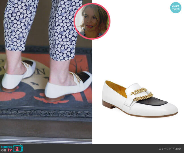 Madison Maison Gioia Loafer worn by Alice Pieszecki (Leisha Hailey) on The L Word Generation Q