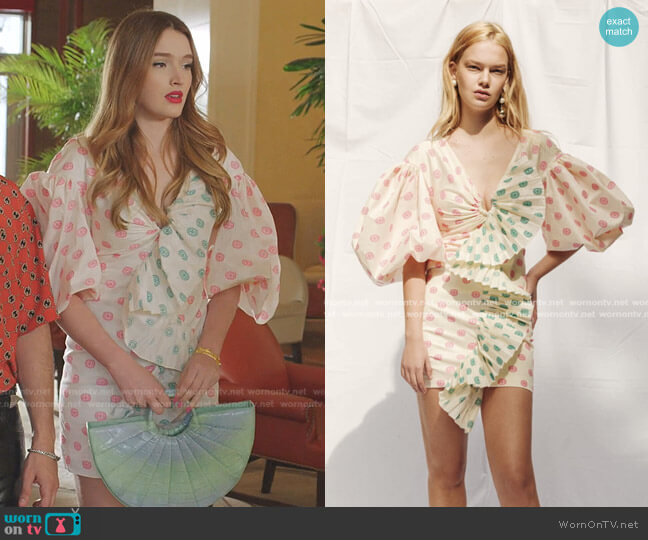Spring Summer 2020 Collection by Nadya Dzyak worn by Kirby Anders (Maddison Brown) on Dynasty