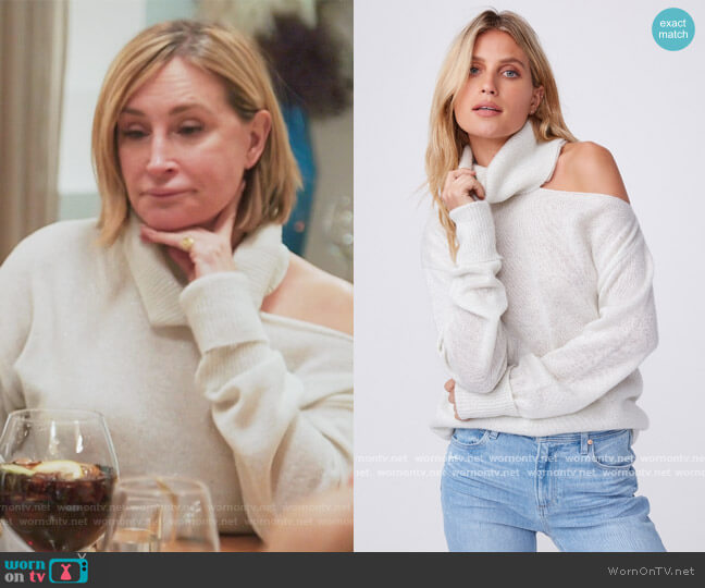 Raundi Sweater by Paige worn by Sonja Morgan  on The Real Housewives of New York City