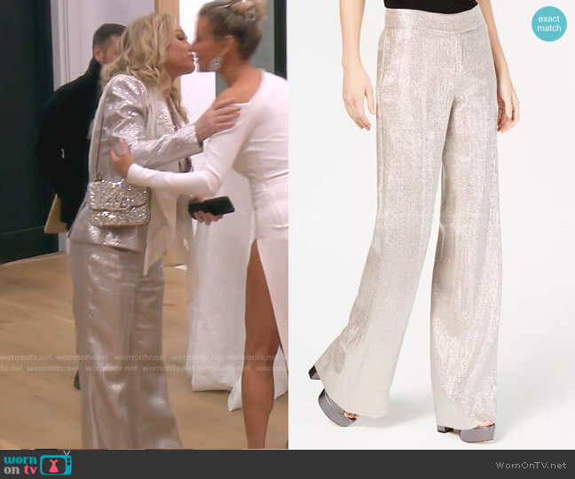 Eden Pants by Rachel Zoe worn by Kathy Hilton  on The Real Housewives of Beverly Hills