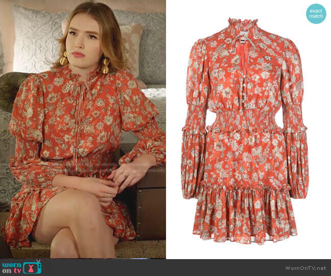 Rosewell Dress by Alexis worn by Kirby Anders (Maddison Brown) on Dynasty
