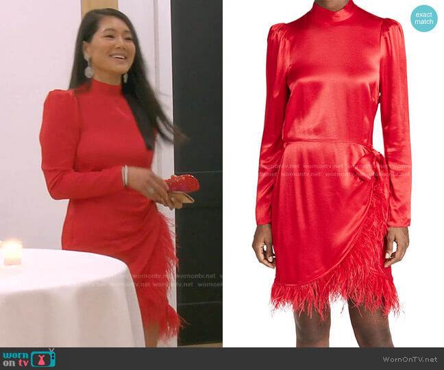 Quin Dress by Saylor worn by Crystal Kung Minkoff  on The Real Housewives of Beverly Hills
