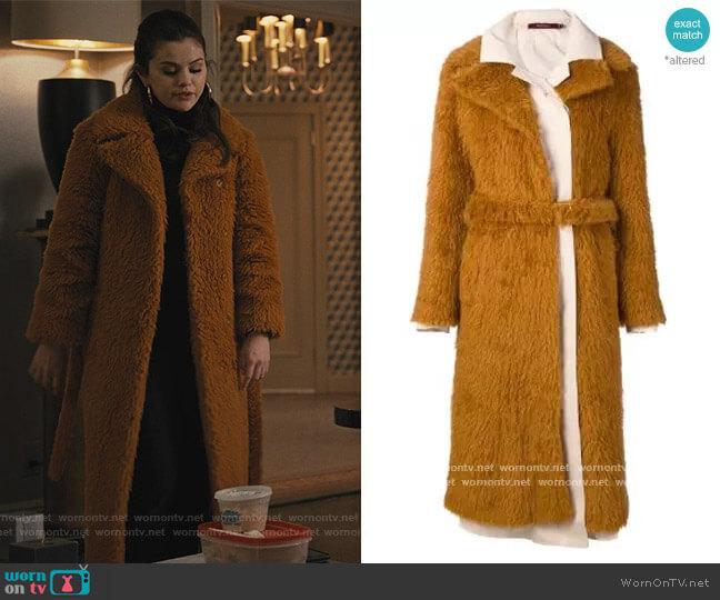 Long Coat by Sies Marjan worn by Mabel Mora (Selena Gomez) on Only Murders in the Building