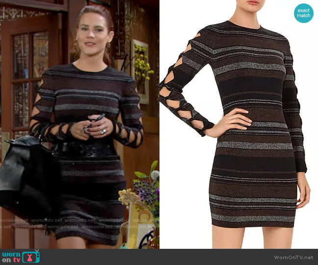 Ted Baker Simona Dress by Ted Baker worn by Sally Spectra (Courtney Hope) on The Young & the Restless