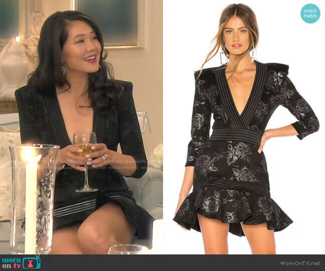 There is Magic In There Mini Dress by Zhivago worn by Crystal Kung Minkoff  on The Real Housewives of Beverly Hills