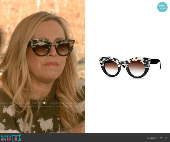 Melancoly Sunglasses by Thierry Lasry worn by Sutton Stracke  on The Real Housewives of Beverly Hills