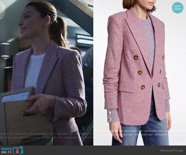 Beacon Dickey cotton and wool-blend blazer by Veronica Beard worn by Chloe Decker (Lauren German) on Lucifer