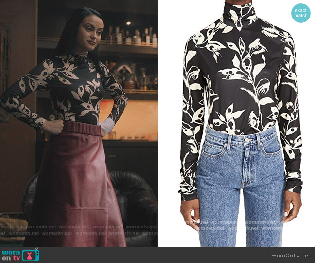 Ladybeetle Body Knit Top by Zimmermann worn by Veronica Lodge (Camila Mendes) on Riverdale