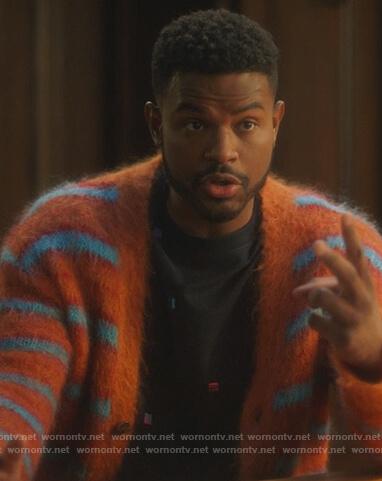 Zoey's leopard fur coat on Grown-ish