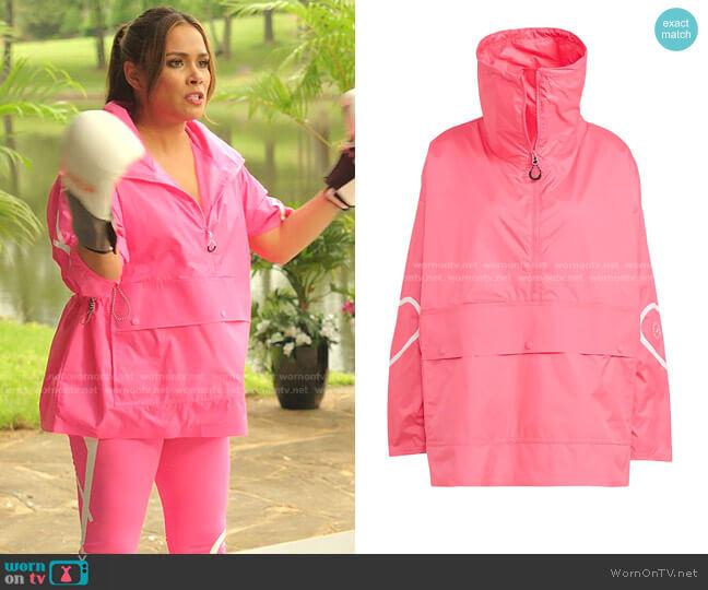 Mid Jacket by Adidas by Stella McCartney worn by Cristal Jennings (Daniella Alonso) on Dynasty