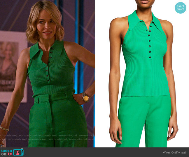 ALC Asher Top worn by Alice Pieszecki (Leisha Hailey) on The L Word Generation Q