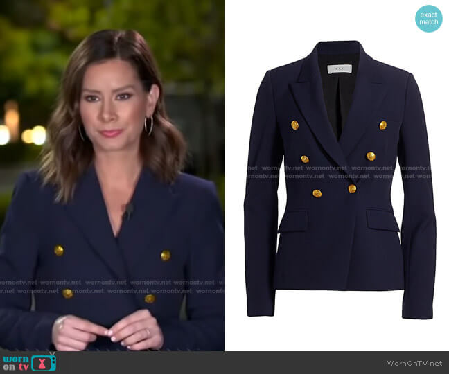 Hastings II Jacket by A.L.C. worn by Rebecca Jarvis  on Good Morning America