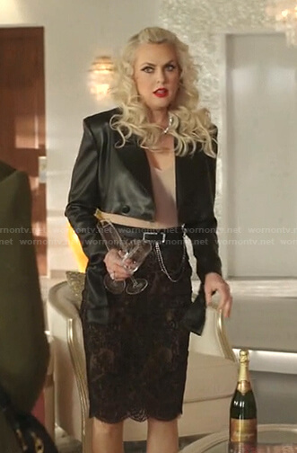Amanda's green blazer on Dynasty