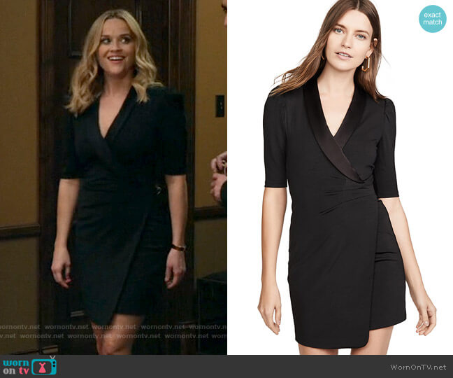 Alice + Olivia Remi Dress worn by Bradley Jackson (Reese Witherspoon) on The Morning Show