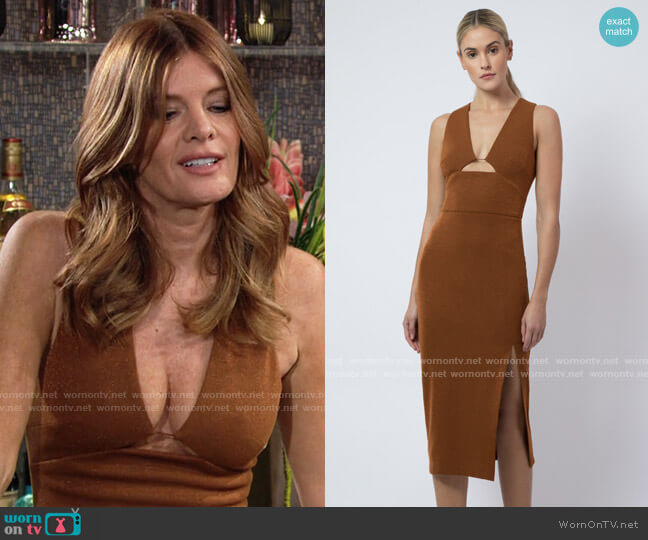 AQ/AQ Wolfe Dress worn by Phyllis Summers (Michelle Stafford) on The Young & the Restless
