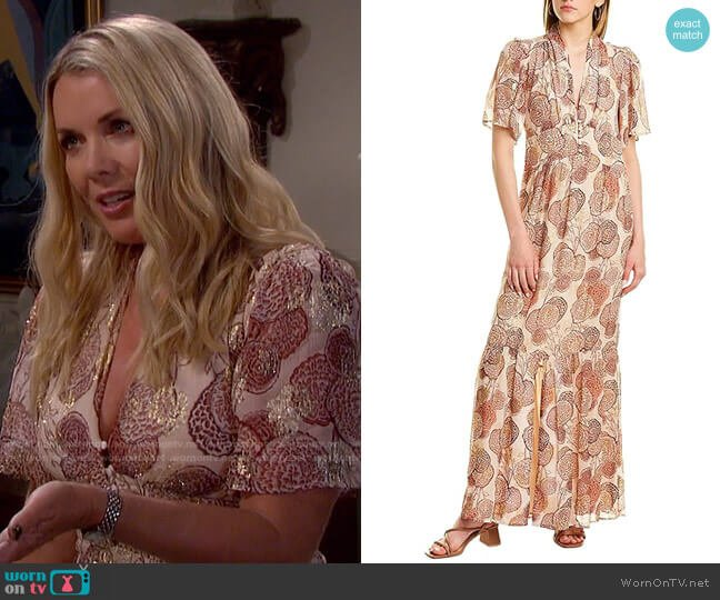 Hide Maxi Dress by Ba&Sh worn by Christie Clark on Days of our Lives: Beyond Salem