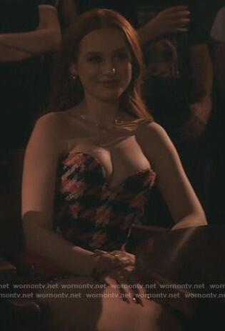 Josie's white drape cami on Riverdale