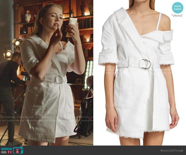 Milly Dress by Cinq a Sept worn by Amanda Carrington (Eliza Bennett) on Dynasty
