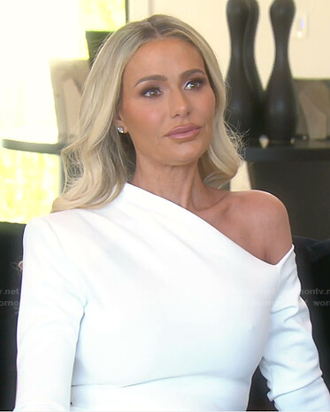 Dorit's wedding dress on The Real Housewives of Beverly Hills