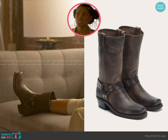 Frye Harness 12R Boot worn by Pippa Pascal (Vanessa Williams) on The L Word Generation Q