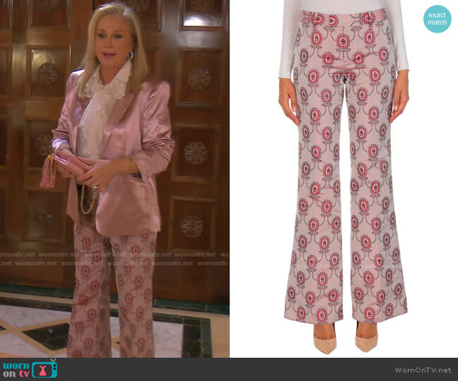 Casual Pants by Gucci worn by Kathy Hilton  on The Real Housewives of Beverly Hills