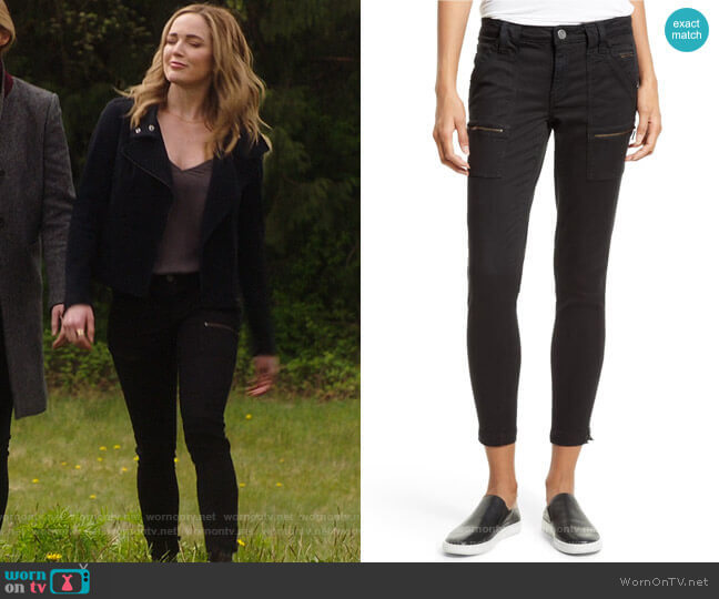 Joie Park Pants worn by Sara Lance (Caity Lotz) on Legends of Tomorrow