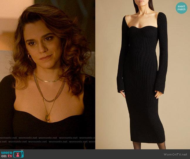 Khaite Beth Dress worn by Gigi Ghorbani (Sepideh Moafi) on The L Word Generation Q