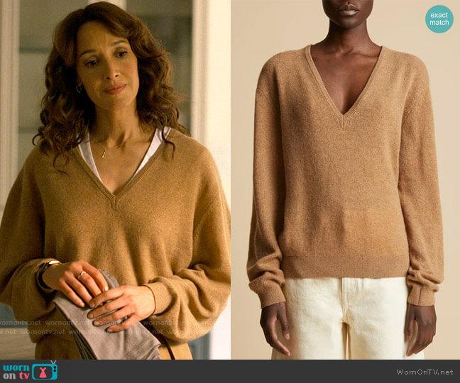 Khaite The Sam Sweater worn by Bette Porter (Jennifer Beals) on The L Word Generation Q