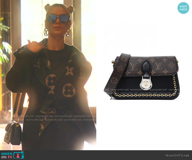 Monogram Neo Saint Cloud Bag by Louis Vuitton worn by Dorit Kemsley  on The Real Housewives of Beverly Hills
