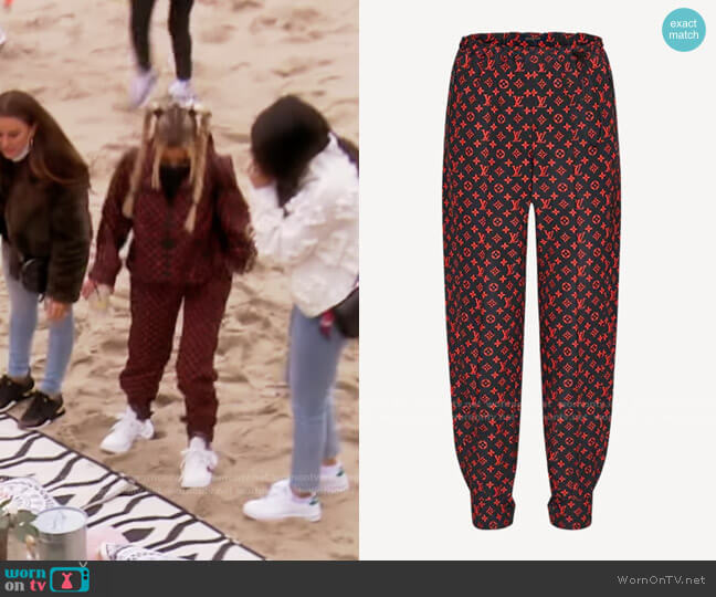 Jogging Pants by Louis Vuitton worn by Dorit Kemsley  on The Real Housewives of Beverly Hills