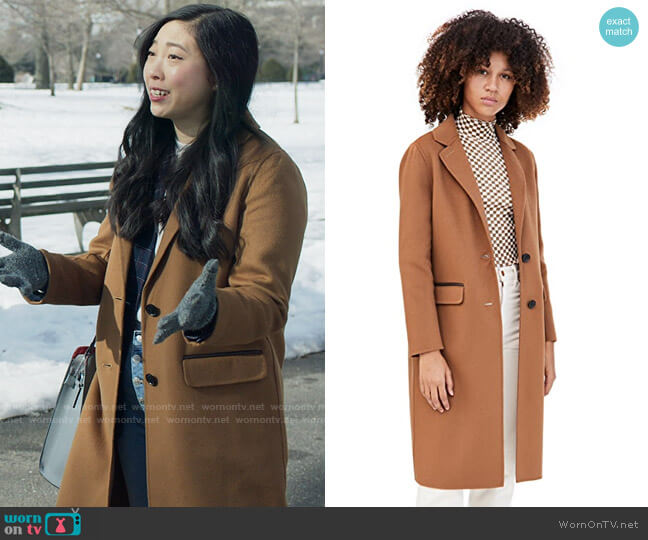 Mackage Hens Coat worn by Nora Lum (Awkwafina) on Awkwafina is Nora From Queens