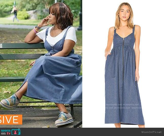 Mara Hoffman Mo Dress worn by Gayle King  on CBS Mornings