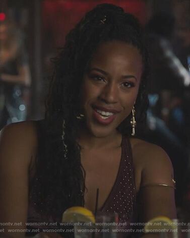 Alexandra's plaid bra on Riverdale