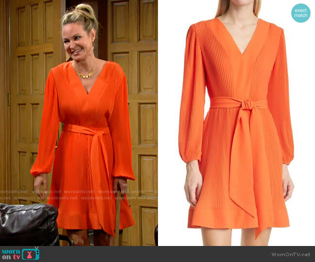 Milly Liv Dress worn by Sharon Collins (Sharon Case) on The Young & the Restless