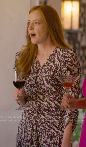 Alice's pink pleated dress on The L Word Generation Q
