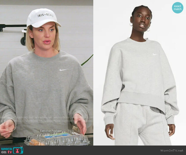 Sportswear Crewneck Sweatshirt by Nike worn by Whitney Rose  on The Real Housewives of Salt Lake City