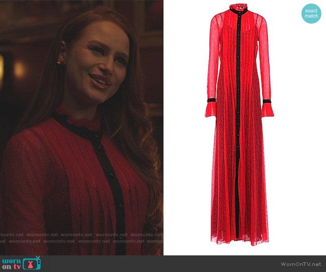 Long Dress by Philosophy di Lorenzo Serafini worn by Cheryl Blossom (Madelaine Petsch) on Riverdale