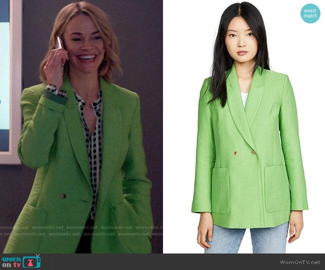 Rachel Comey New Amboy Jacket worn by Alice Pieszecki (Leisha Hailey) on The L Word Generation Q