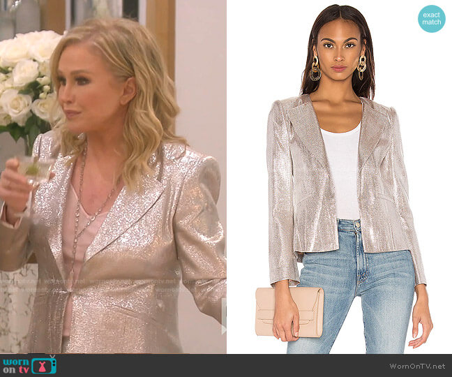 Daisy Blazer by Rachel Zoe worn by Kathy Hilton  on The Real Housewives of Beverly Hills