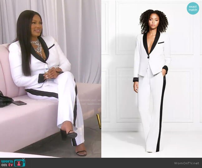 Sawyer Blazer and Siera Pants by Rachel Zoe worn by Garcelle Beauvais  on The Real Housewives of Beverly Hills