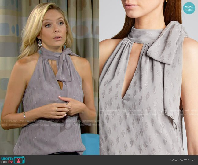 Ramy Brook Sasha Top worn by Abby Newman (Melissa Ordway) on The Young & the Restless